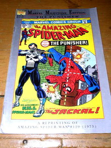 The Amazing Spiderman, The Punisher, #129,  comic
