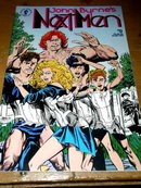 John Byrne's Next Man, #0,  comic