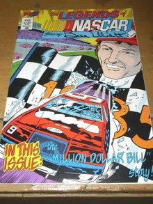 Legends of Nascar, Bill Elliott, #6,  comic