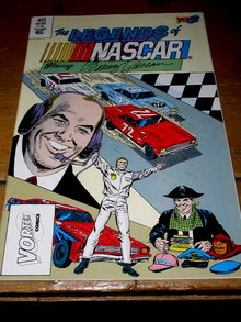 The Legends of Nascar, Benny Parsons, #8,  comic