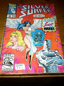 The Silver Surfer, #66,  comic