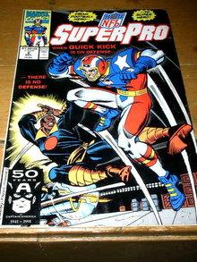 Superpro, NFL,  #2,  comic