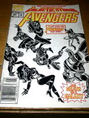 Avengers, Galactic Storm, Part 19,  #347,  comic