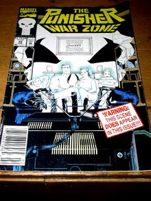 The Punisher, War Zone,  #12,  comic