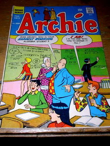 Archie's, Blue Monday, #206,  comic