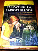 Nancy Drew, Password to Larkspur Lane  Book