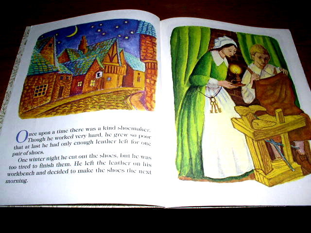 The Elves and the Shoemaker,  Second Printing, Little Golden Book