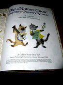 Old Mother Goose and Other Nursery Rhymes,  Second Printing, Little Golden Book