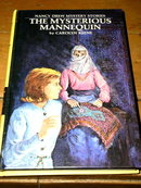 Nancy Drew, The Mysterious Mannequin,   Book