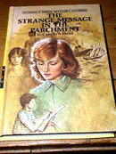 Nancy Drew,  The Strange Message in the Parchment,   Book
