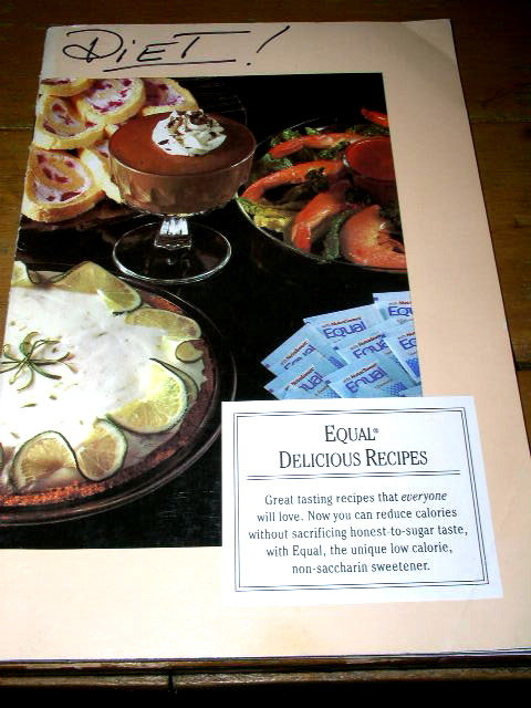 Diet - Equal Delicious Recipes Cookbook  -   CK