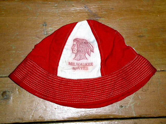 Milwaukee Braves Child's Sunhat