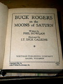 Buck Rogers on the Moons of Saturn  - Big Little Book