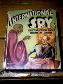 International Spy  - Big Little Book