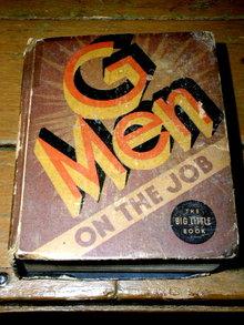 G-Men on the Job  - Big Little Book