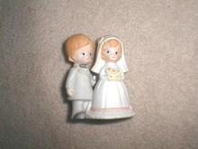 Lefton Bride and Groom  -  FG