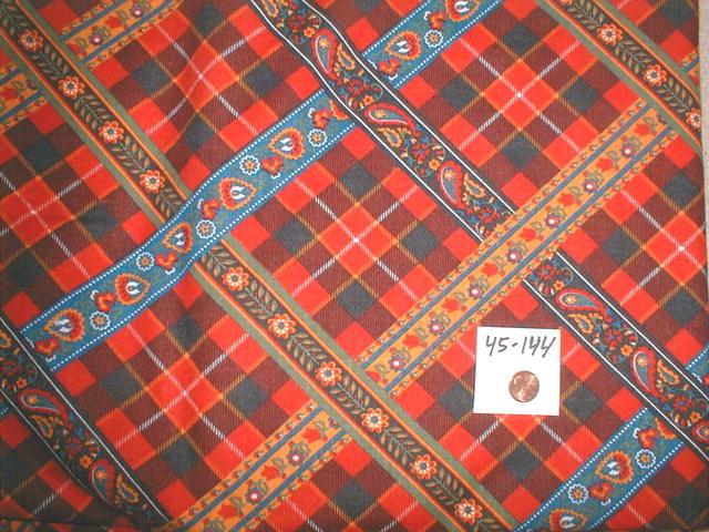 Vintage Fabric 1960