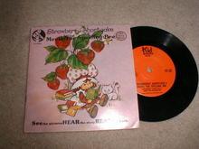 Strawberry Shortcake Child's Record and Book