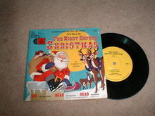 The Night Before Christmas Record And Book