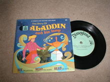 Aladdin and His Lamp Record and Book