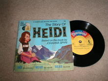 Heidi, Child's Record and Book