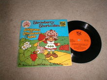 Strawberry Shortcake Adventures in Strawberry Land Record and Book