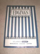 Edgings Crochet  Pattern Book  -  PTB