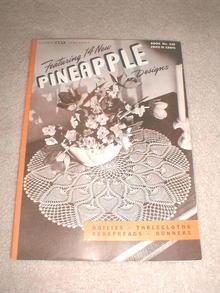 Pineapple Crochet Pattern Book  -  PTB
