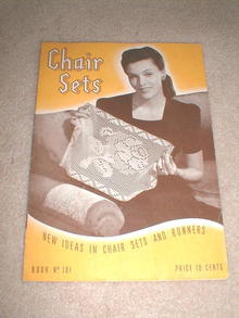 Chair Sets Crochet Pattern Book  -  PTB