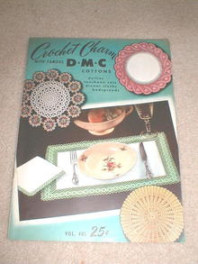 DMC Crochet Pattern Book  -  PTB