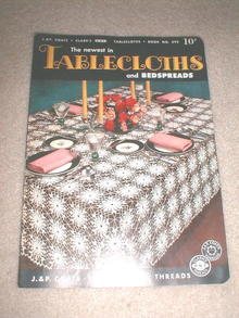 Tablecloths Crochet Pattern Book  -  PTB