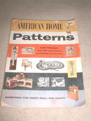 American Home Patterns Magazine  -  PTB