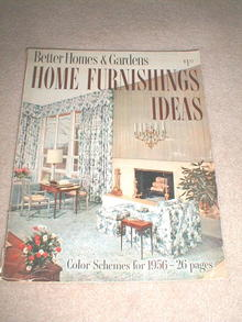 Better Homes & Gardens Home Furnishings Idea Magazine  -  MZ