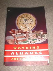 Watkin's 80th Anniversary Almanac and Home Book