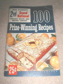 Pillsbury 2nd Grand National Recipe Book  -  CK