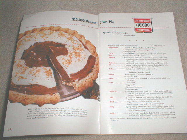 Pillsbury 2nd Grand National Recipe Book  -  CK