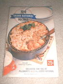Pillsbury 8th Grand National Cookbook  -  CK