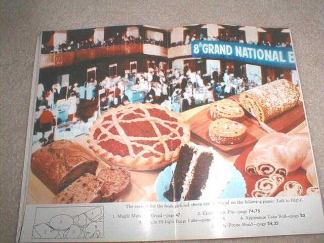 Pillsbury 8th Grand National Cookbook  -  CK