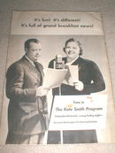 Kate Smith's Breakfast Book, 1941  _  CK