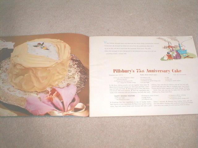 Pillsbury's Diamond Anniversary Recipes  -  CK