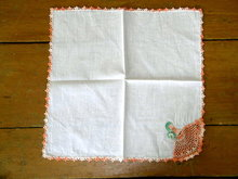 Lace Edged Handkerchief