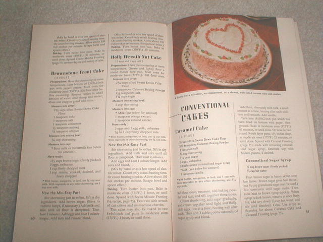 General Foods 1947 Learn To Bake Recipes  -  CK