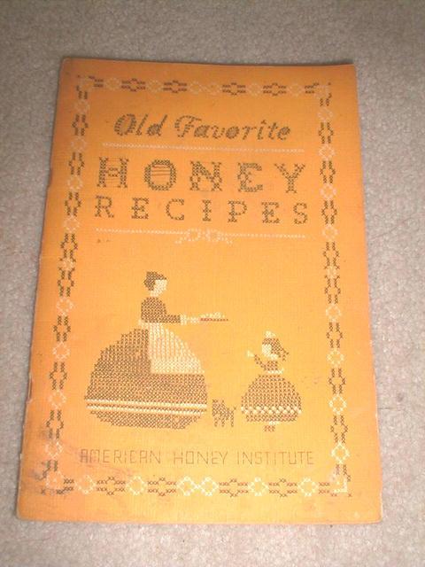 Honey Recipes, 1941  -  CK