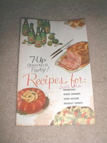 7-UP Party Recipes Cookbook  -  CK