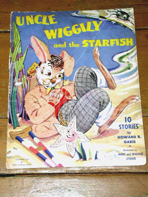 Uncle Wiggily and the Starfish   Book