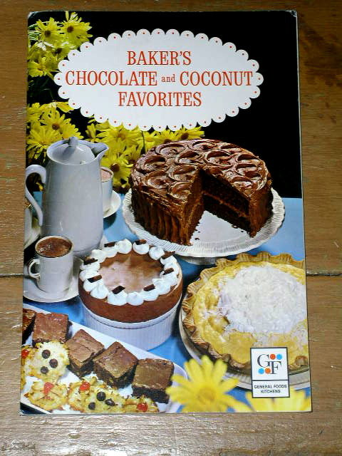 Baker's Chocolate and Coconut Favorites Cookbook