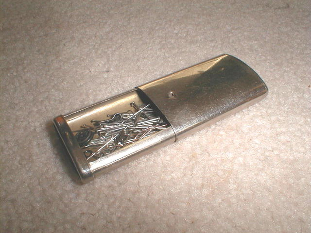 Metal Pull Out Needle Case