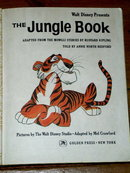 The Jungle Book,  First Printing, Little Golden Book