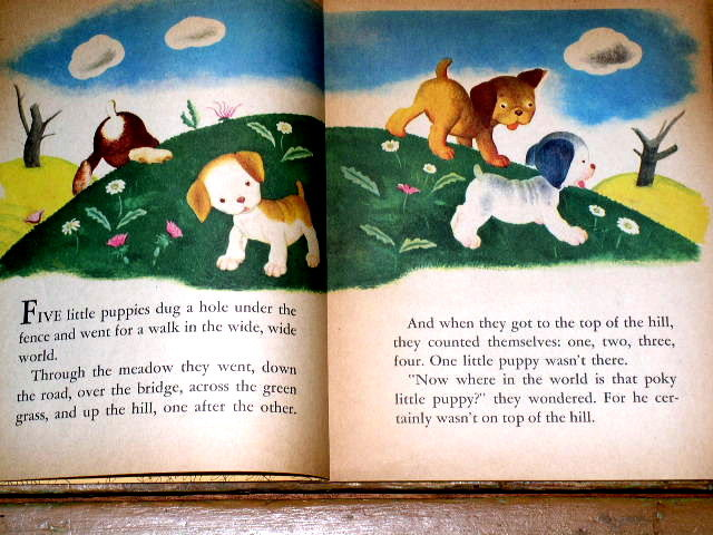 The Poky Little Puppy,  First Printing, Little Golden Book