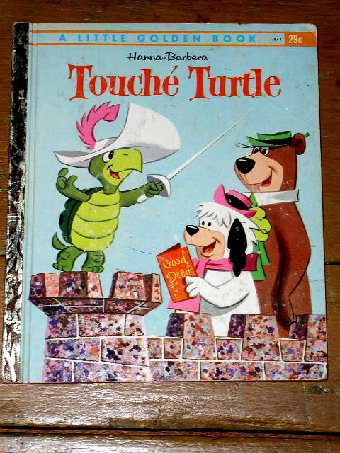 Touche Turtle,  First Printing, Little Golden Book
